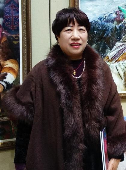 东书房签约艺术家石楠:完善臻美的艺术审美高度,是艺术家的毕生追求